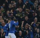 English League Cup: Everton 2 - 1 Manchester City