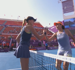 Qatar Total Open Highlights: Kristina Mladenovic beat Peng Shuai