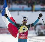 Biathlon-Poursuite (M): Fourcade sacré !