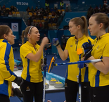 Curling - ROUND ROBIN FEMMES, SESSION 5: Switzerland 7 Sweden 8