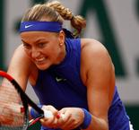 Kvitova has emotions in check after attack