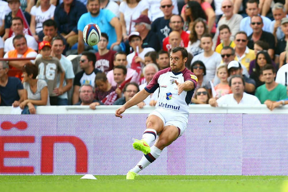 UBB: Beauxis absent plusieurs semaines