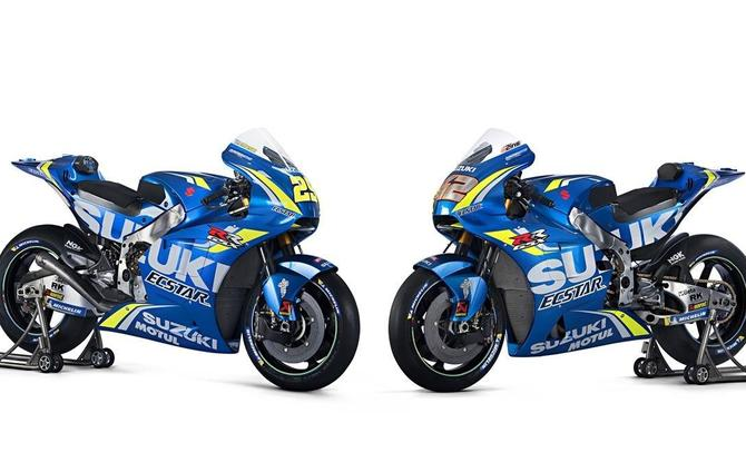 Suzuki Launches 2018 MotoGP Effort