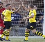 Alcacer strikes again as Dortmund downs Liverpool