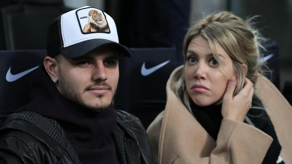 Mauro Icardi and Wanda Nara - cropped
