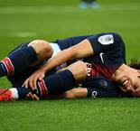 Paris Saint-Germain 1 Bordeaux 0: Cavani injury mars victory
