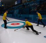 Curling -  MEN'S ROUND ROBIN SESSION 10: Italy 3 Sweden 7