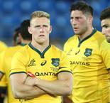Wallabies centre Hodge fractures ankle