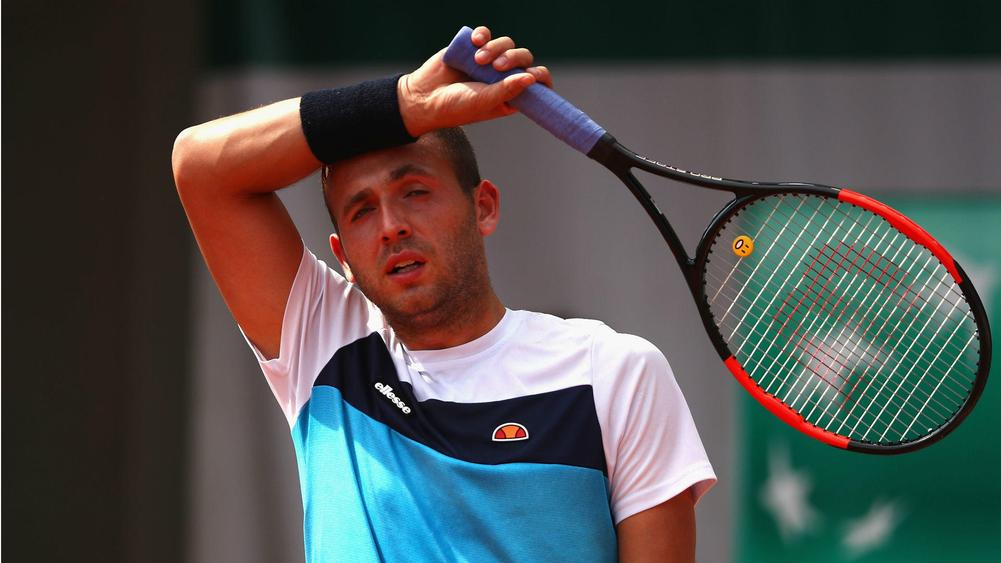 Dan Evans banned for a year after cocaine contaminates washbag