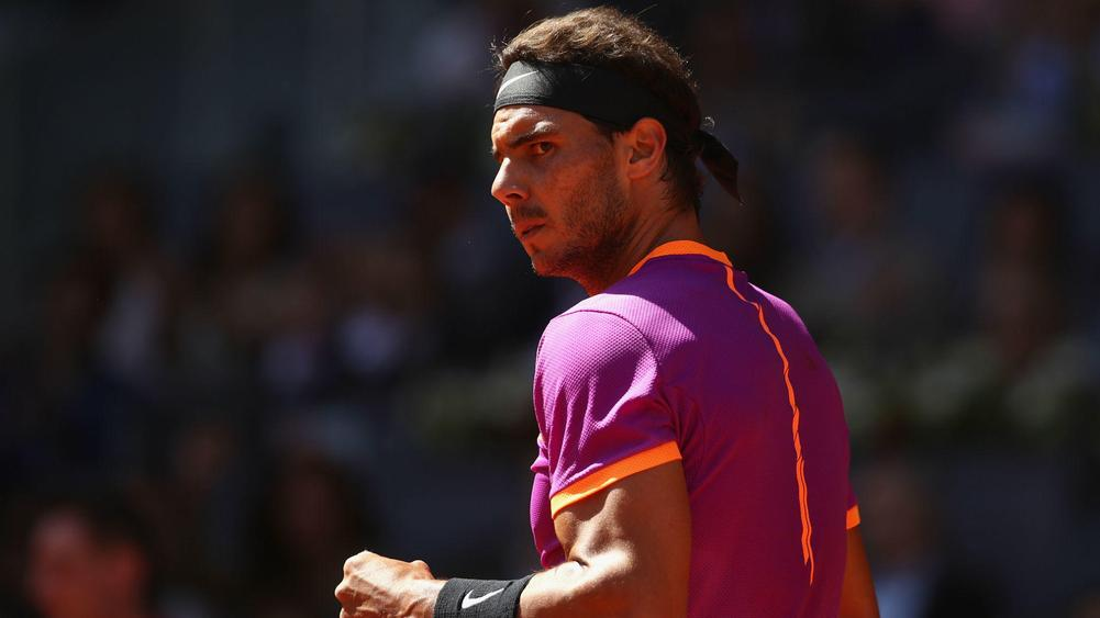 Nadal outlasts Thiem, wins third straight ATP Tour event