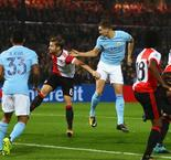 Stones at the double as Guardiola's men run riot in Rotterdam