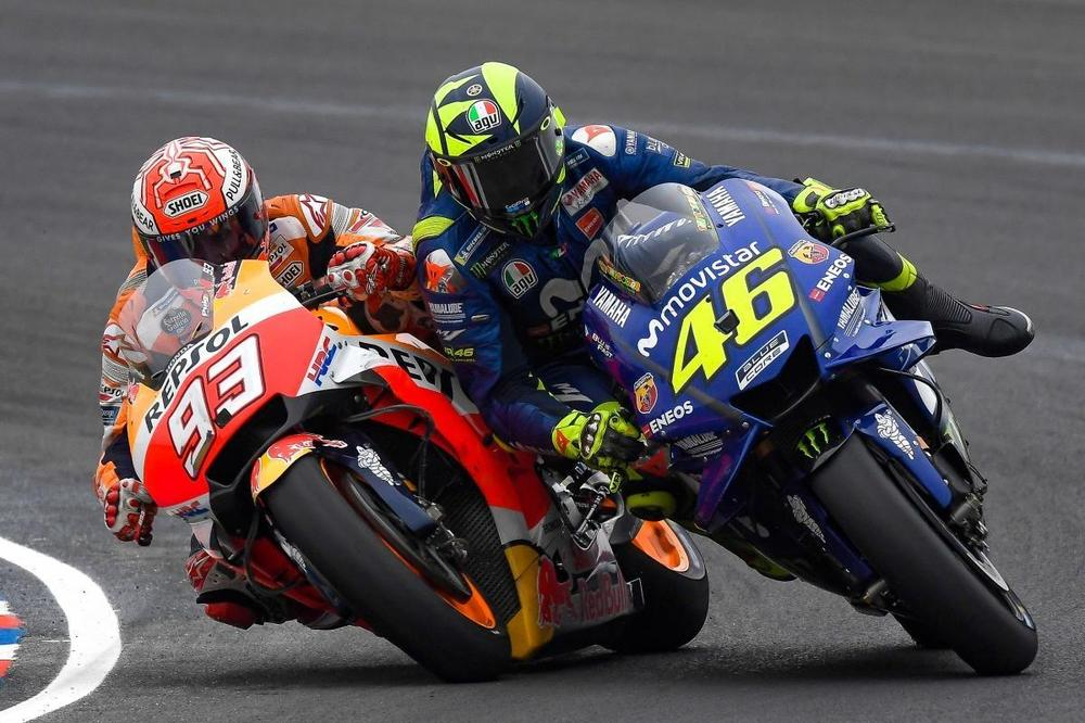 He is destroying MotoGP – Rossi scathing of Marquez's antics