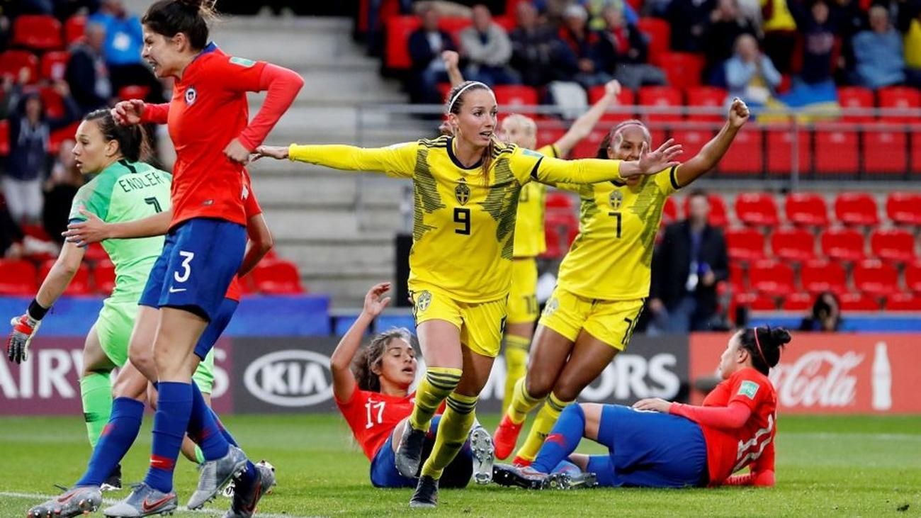 Image result for fifa women world cup sweden chile