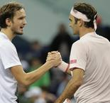 Federer Happy To Lose Stunning Point To Medvedev
