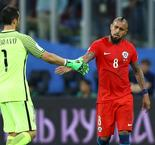 A warrior never surrenders - Vidal not turning his back on Chile