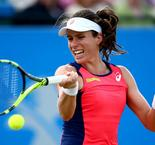 Konta and Kontaveit each reach finals