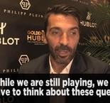 Buffon doesn't want to be called a legend