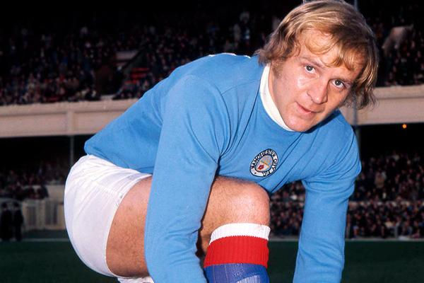 Francis Lee (Manchester City): 10 Goals between 1967 and 1974. Getty Images.