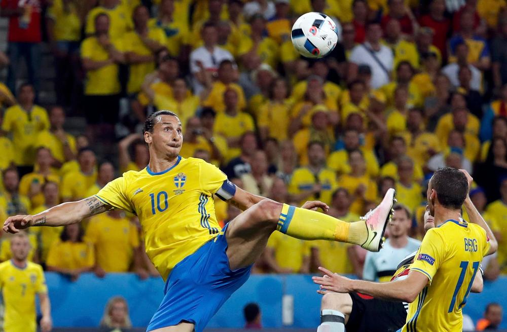 Zlatan Ibrahimović teases potential return to Swedish national team