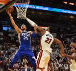 NBA : Les 76ers font le break sur le Heat !