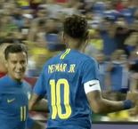 Neymar Nets Controversial Penalty Against El Salvador