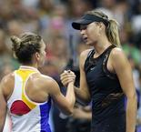 US Open: Sharapova, de retour en Grand Chelem, bat Halep au 1er tour