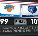 GAME RECAP: Grizzlies 105, Knicks 99