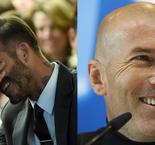 Man United and Real Madrid favourite Beckham begs Zidane to beat Liverpool