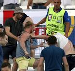 Russian Fans In Stand-Off With French Police As Bus Is Searched