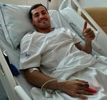 Casillas Shares Message From Hospital After Heart Attack