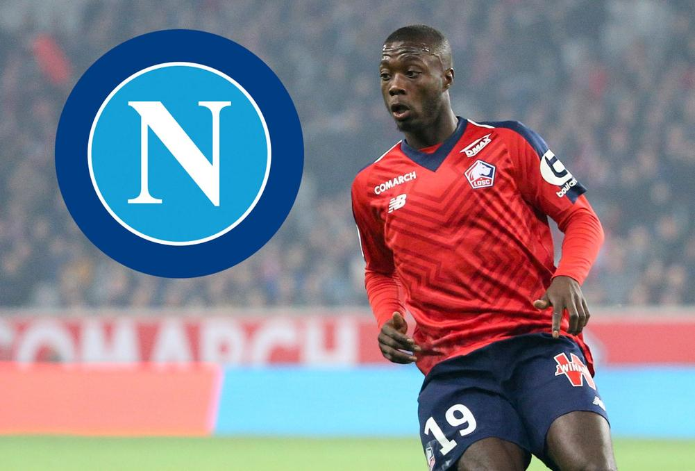 report napoli closing in on nicolas pepe. Black Bedroom Furniture Sets. Home Design Ideas