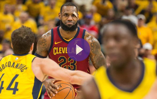 a646eaaf06e LeBron Not Thinking About Cleveland Farewell Before Game 7