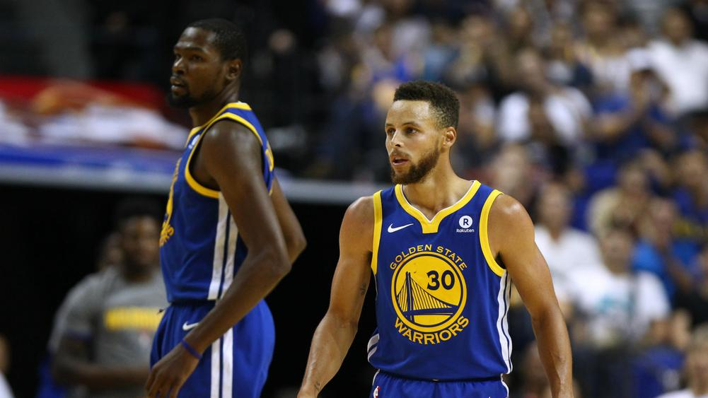 Steph Curry and Kevin Durant Ejected in Warriors' Defeat ...