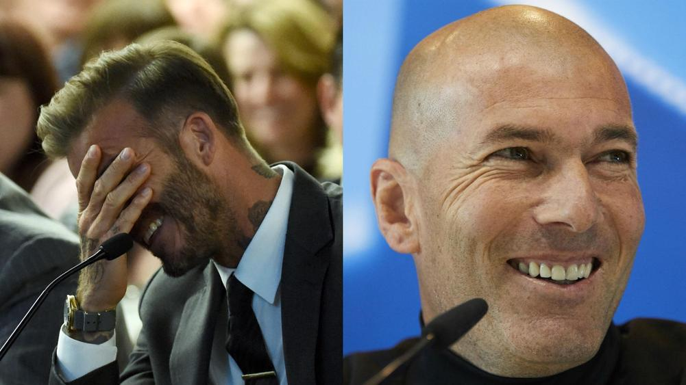 8a21786937d David Beckham Begs Former Madrid Teammate Zidane To Beat Liverpool