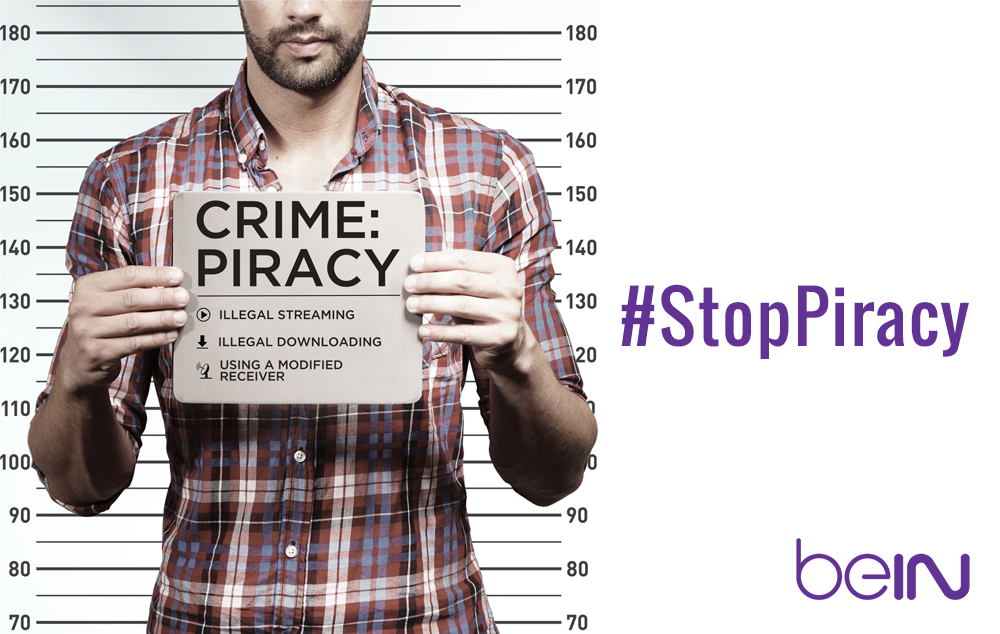 Stay safe and help to fight TV piracy