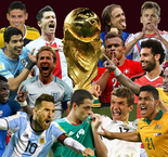 All the World Cup squads listed here