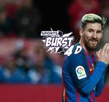 SportsBurst 4D: Barcelona Can't Pay Messi, Zidane Hits 40