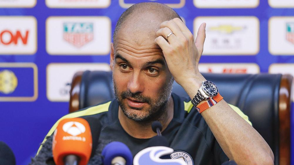 Guardiola set to be without £40m Sané for opener