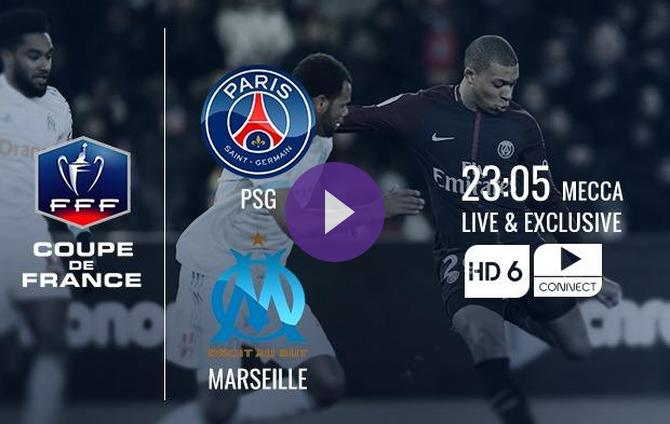 coupe de france preview psg vs marseille streaming information how to watch online team news. Black Bedroom Furniture Sets. Home Design Ideas