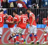 2018 FIFA World Cup- Russia 5 Saudi Arabia 0 -Hosts Russia hit Five past a hapless Saudi Arabia