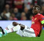 Mourinho fears Pogba may miss 'few weeks'