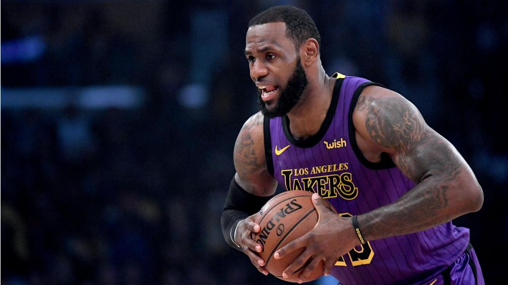 fe370bfb6 Lakers star LeBron James suffers groin injury