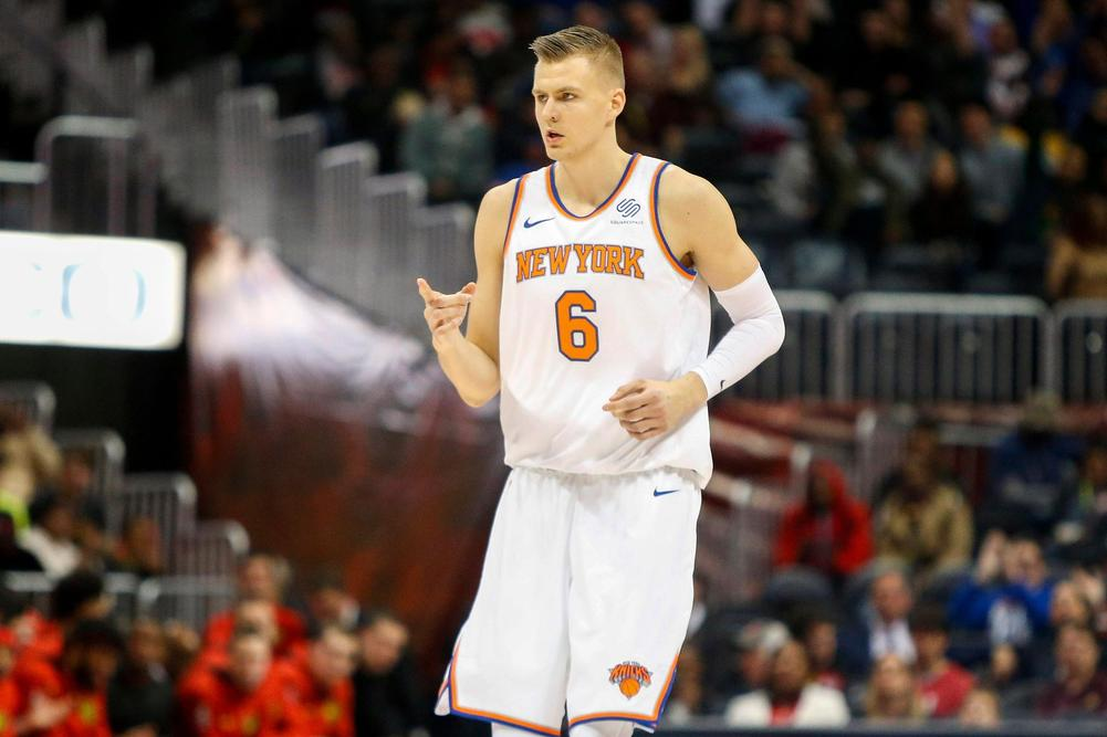 cebc36ef9ac4 Porzingis Out 10 Months Following ACL Surgery