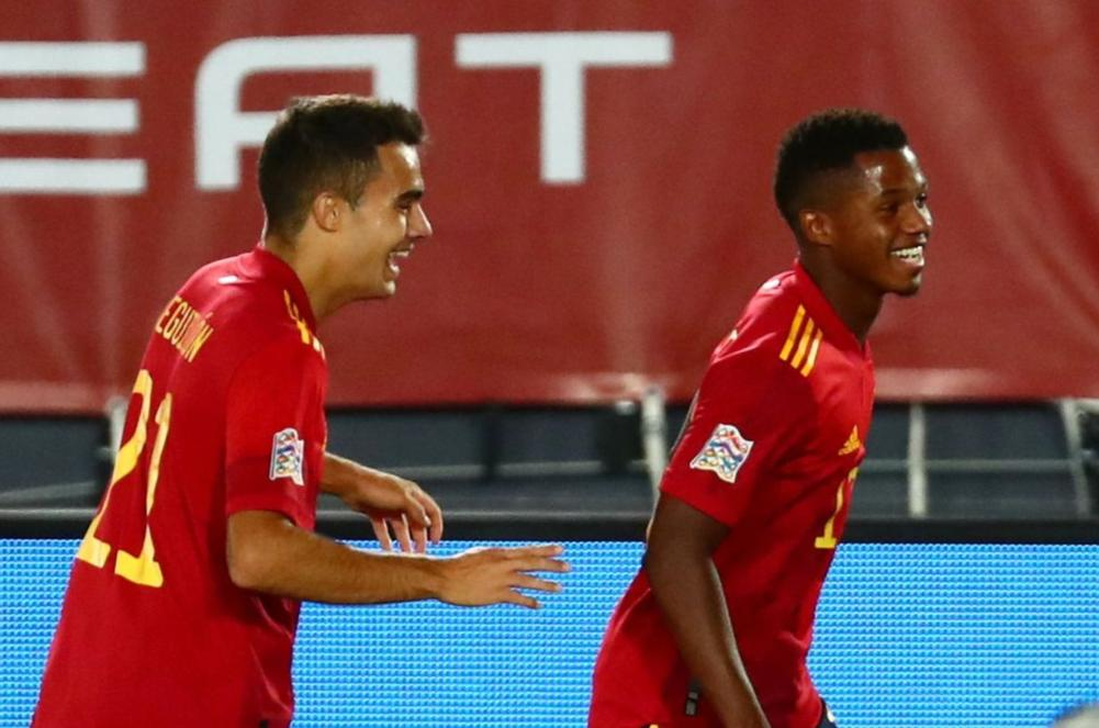 Ansu Fati Scores On His First Professional Start For Spain