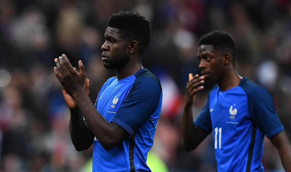 Umtiti: Barcelona want Dembele? He can stay at my house!