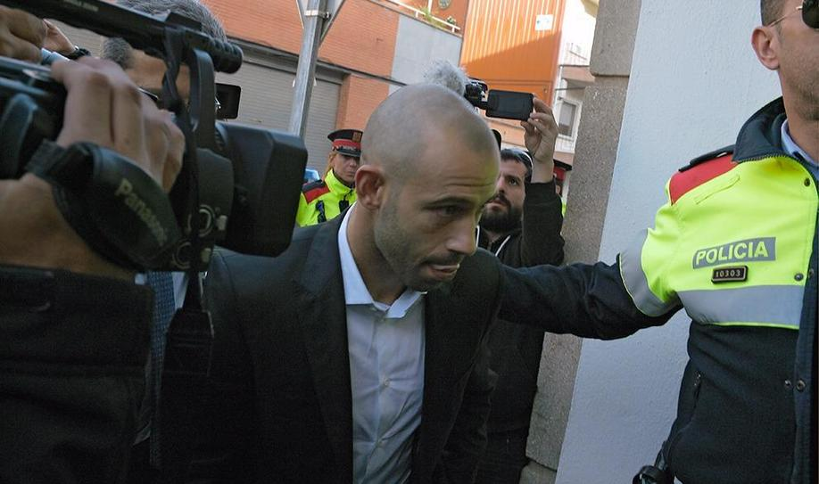 Mascherano Avoids Prison with Tax Evasion Guilty Plea