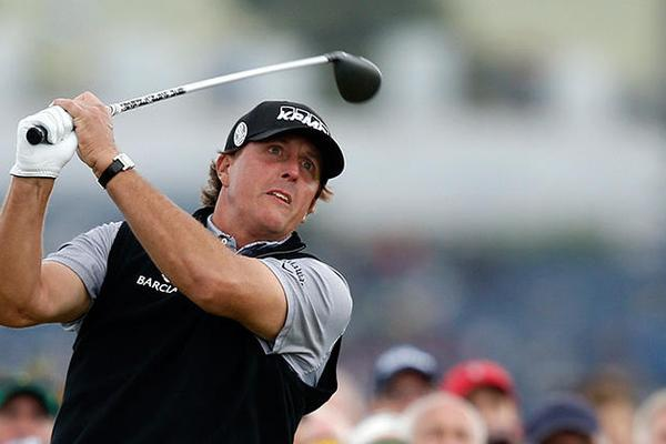 4. Phil Mickelson (45 años)
