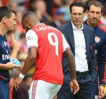 Lacazette Injury 'Not Serious,' Confirms Emery