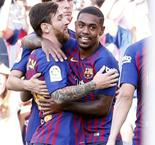 "Malcom Celebrates ""Dream"" Of Scoring At Camp Nou"