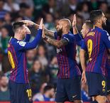 Real Betis 1 Barcelona 4: Record-breaker Messi sends leaders 10 points clear